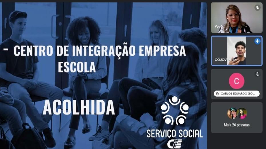 Imagem de acolhida virtual em Belém